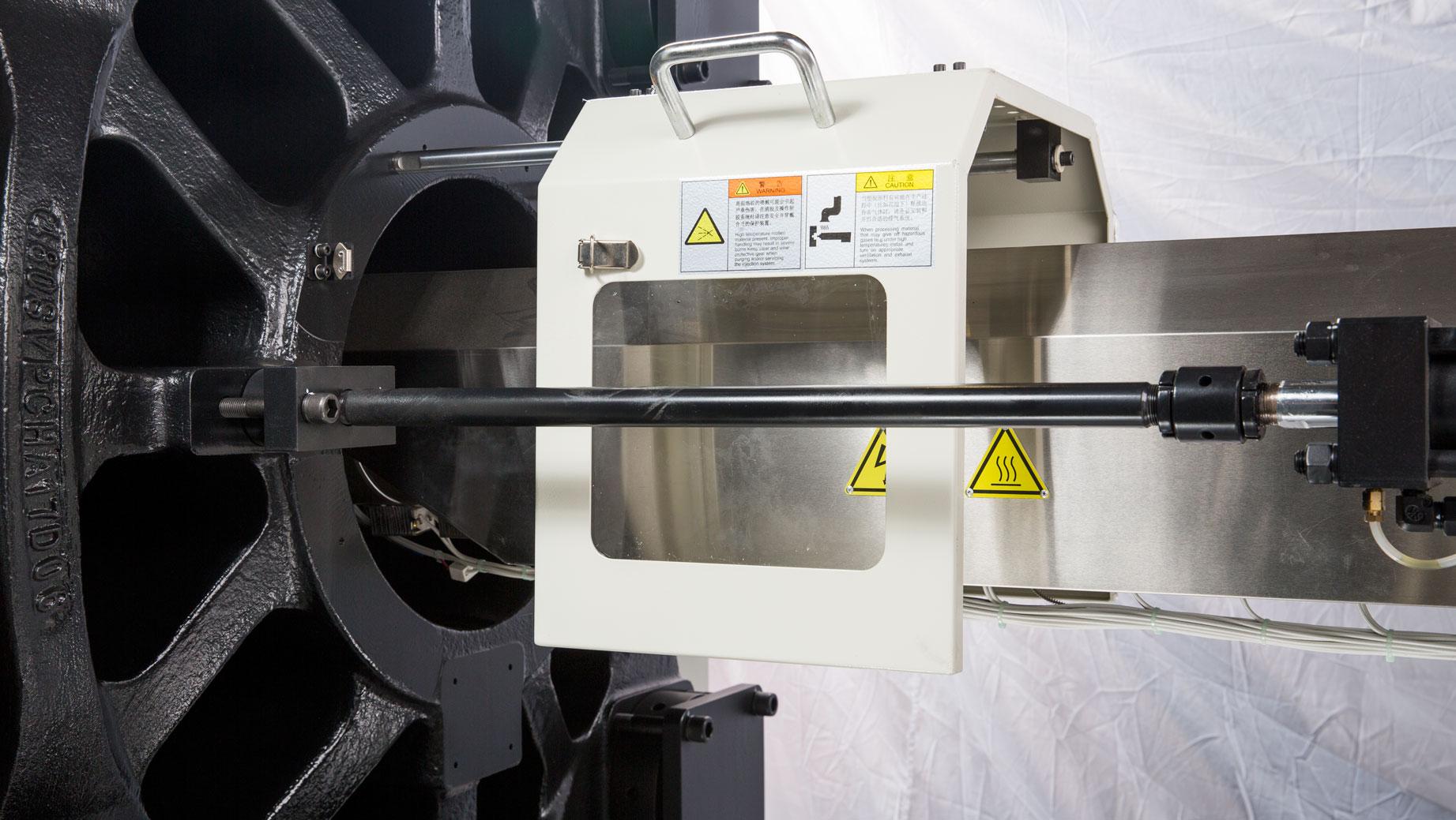 震雄节能注塑机SVP/3+系列,滑动式射嘴护罩