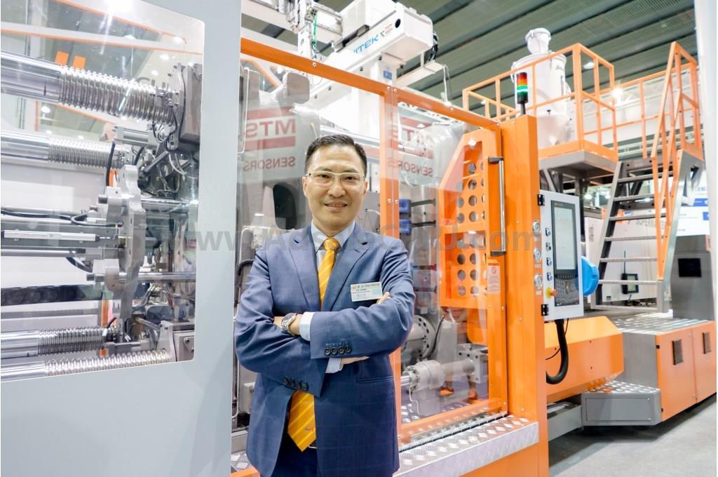 震雄集团生产总裁蒋志坚先生
