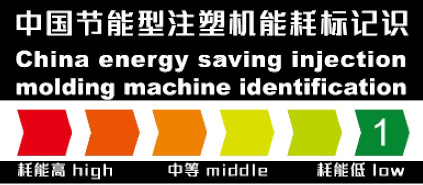 中国节能型注塑机能耗标记识的图标