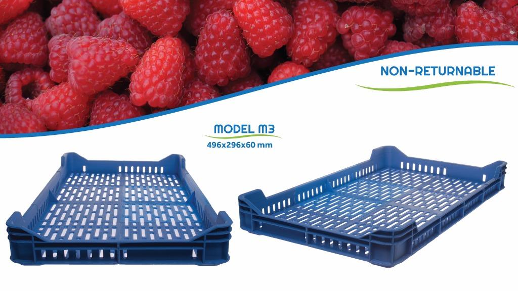 Pollino Plast 公司生产大型农产品塑料包装箱