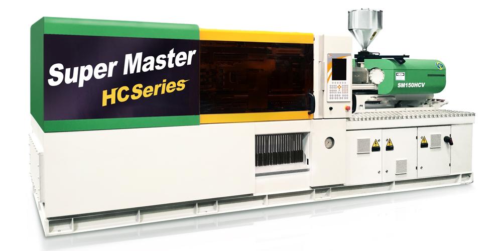 最精密、最高效的直压系列:超霸 SM-HCV 直压式伺服节能注塑机