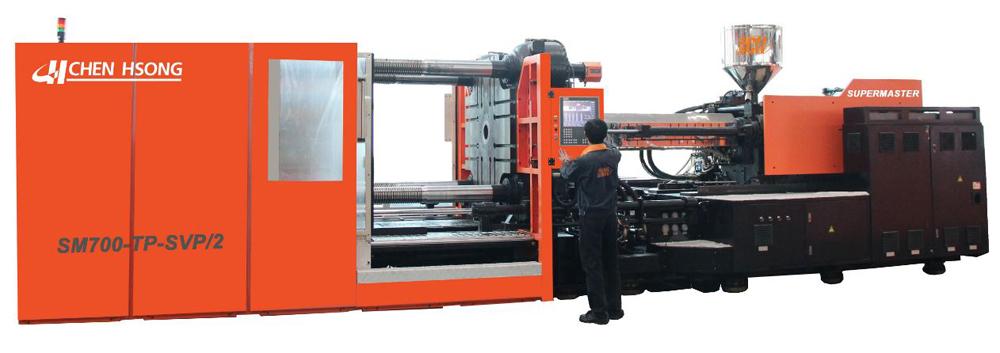 最大型、最先进的二板机系列:超霸 SM-TP 二板注塑机