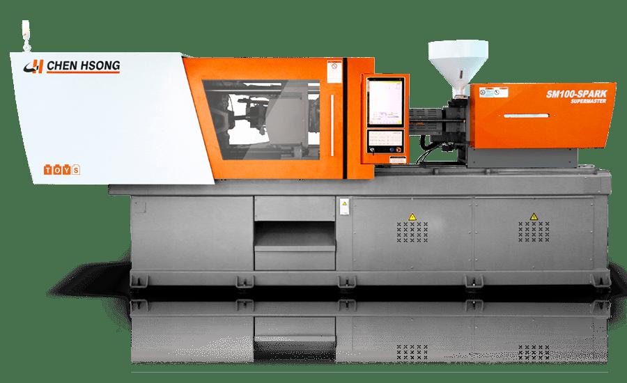震雄注塑机SPEED生产薄壁、包装塑胶射出产品