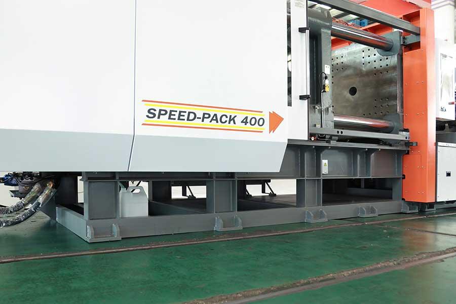 震雄高速注塑机SPEED | 高刚性射台线性导轨